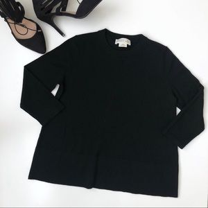 Kate Spade Broome Street Black Wool Sweater